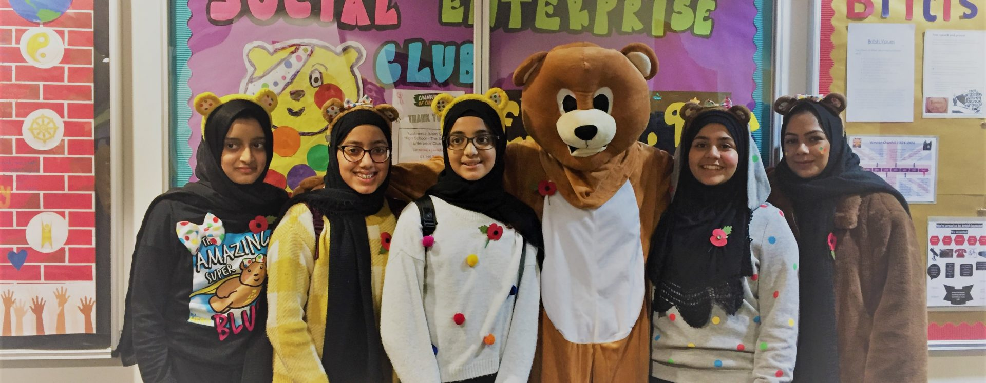 Enterprising Pupils Raise £875 for Children in Need